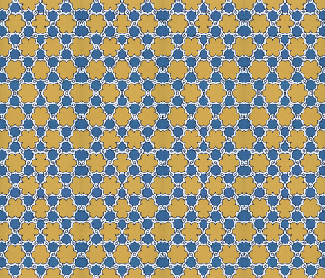 arabesque 83 fabric by hypersphere on Spoonflower - custom fabric