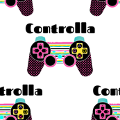"5.25"" Controlla / Game Controller / Retro Colors"