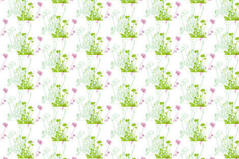 Summer meadow fabric by freudenwerkstatt on Spoonflower - custom fabric