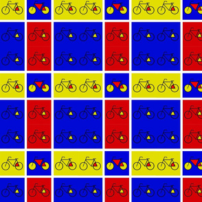 Bicycle Plaid Version 2