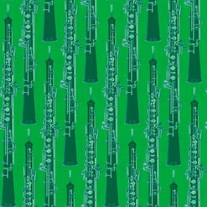 Oboe Stripe Duet Green