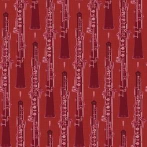 Oboe Stripe Tango Red