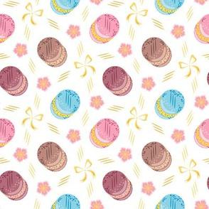 CY. Colorful macarons