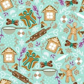CY. Gingerbread cookies