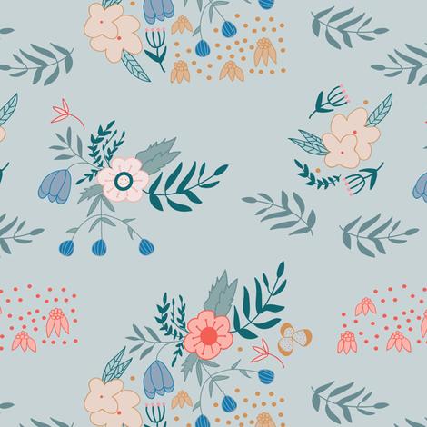 Desert Bouquet fabric by inezjestine on Spoonflower - custom fabric