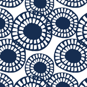 In Circle II- Navy