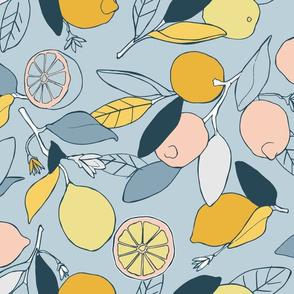 Lemons Grove in blues