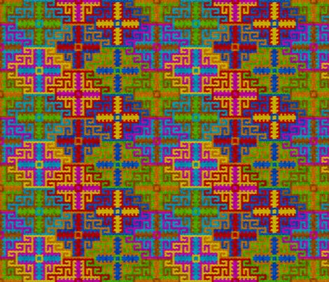Memling Gul fabric by enid_a on Spoonflower - custom fabric