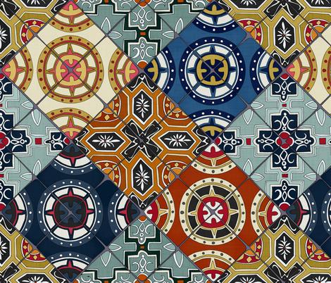 DESEO  fabric by scrummy on Spoonflower - custom fabric