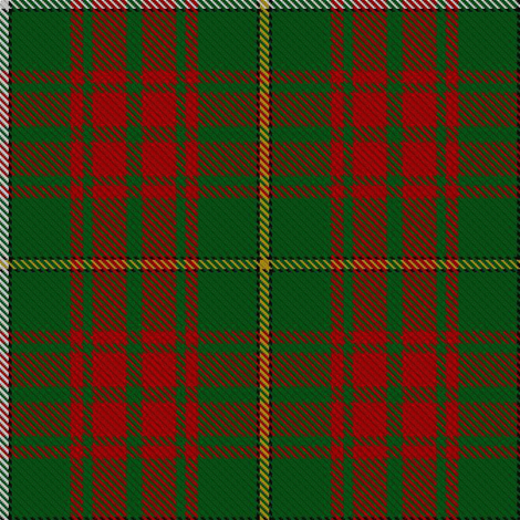 Bruce Hunting Tartan fabric by thinlinetextiles on Spoonflower - custom fabric
