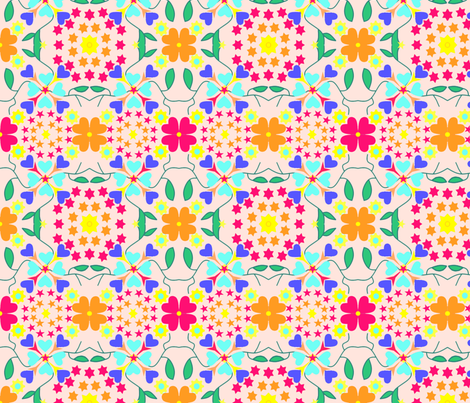 Tile 84 fabric by ruthjohanna on Spoonflower - custom fabric