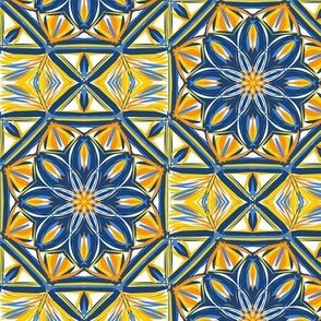 Days of Sunshine Terrace Tiles