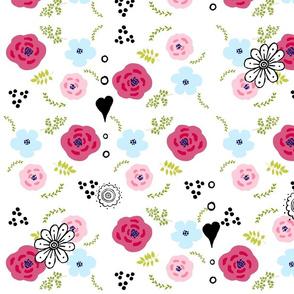 spring bouquet flower Medley - LARGE 20