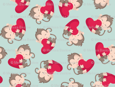 Monkeys with Hearts