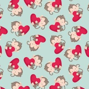Monkeys with Hearts