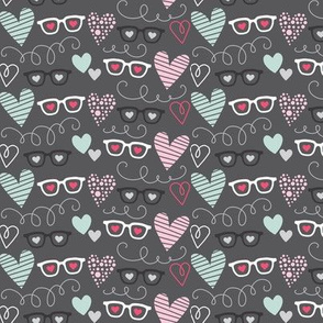 Glasses and Hearts