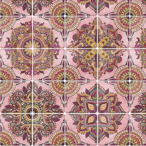 Rose & Gold-SpanishTiles