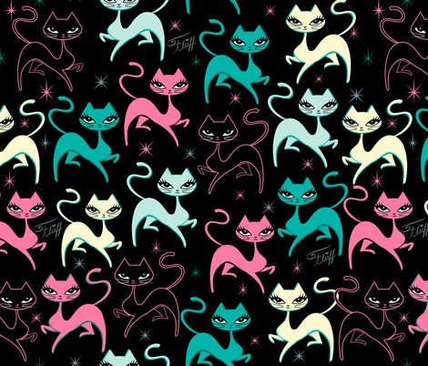 Rprancing_kitten-fabric-black-600-01_shop_preview