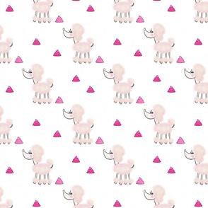 Pink Poodle Poop