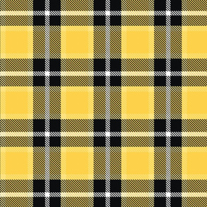 Mustard Yellow Plaid