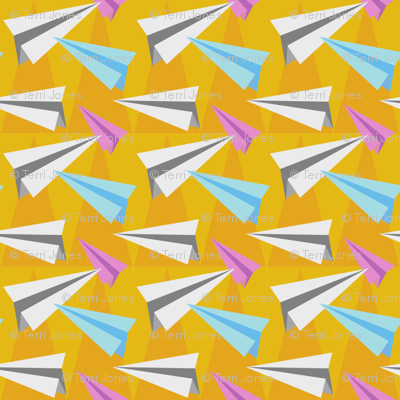Pointy Paper Planes