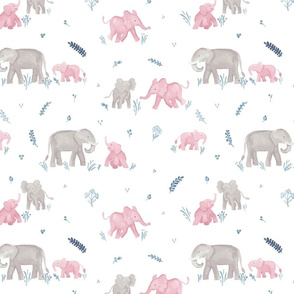 Aurabelle's Elephant mamas & babies