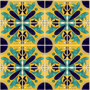 Spanish Tile meet Geometric