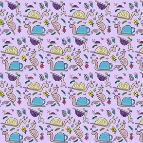 snails purple