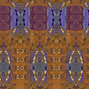african mudcloth-brn