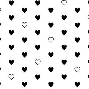 Black Hearts – Love Heart Valentines Day