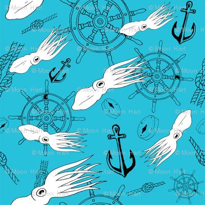 Light Blue Squid