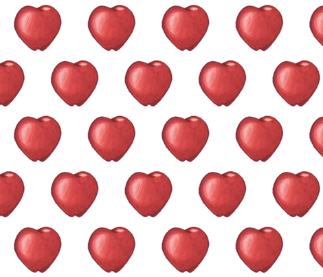Red Apples fabric by nanneandnicky_ on Spoonflower - custom fabric