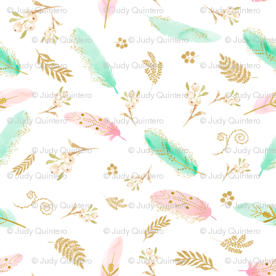 """8"""" Dreamy Feathers"""