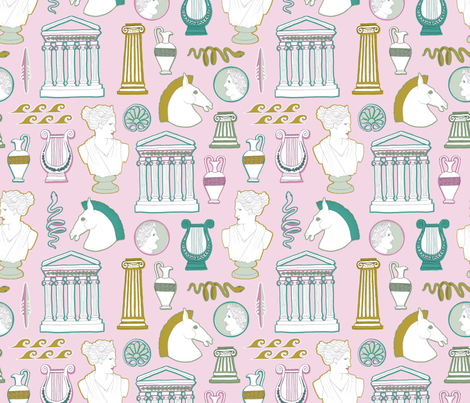 Amphora fabric by tishyaoedit on Spoonflower - custom fabric