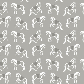 Dancing Horses, Grey Stone