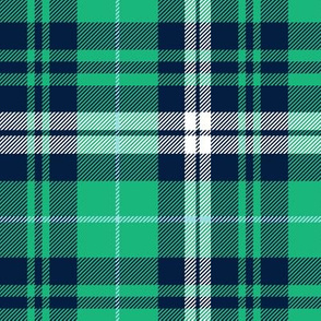 Saint Patrick's day plaid