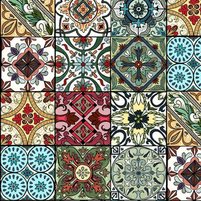 Colorful Spanish Tiles