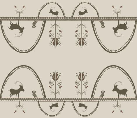 Greek_Goat fabric by birdie_crane on Spoonflower - custom fabric
