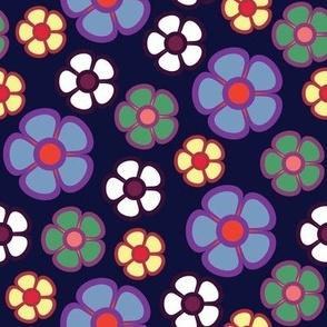 midnight floral