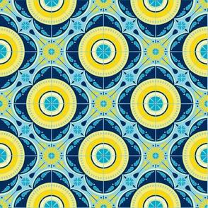 Melanie Ortner - spanish tile - sun and sea-big