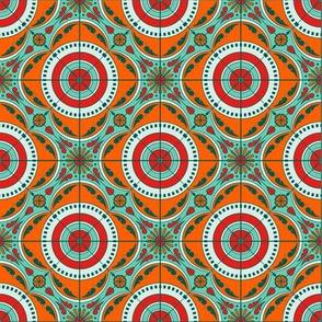 Melanie Ortner - spanish tile - vivaciouse