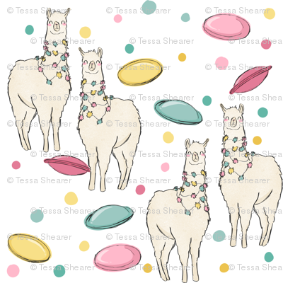 Llamas & flying saucers