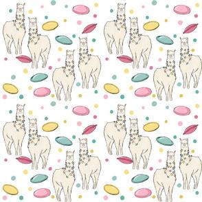 Llamas & flying saucers