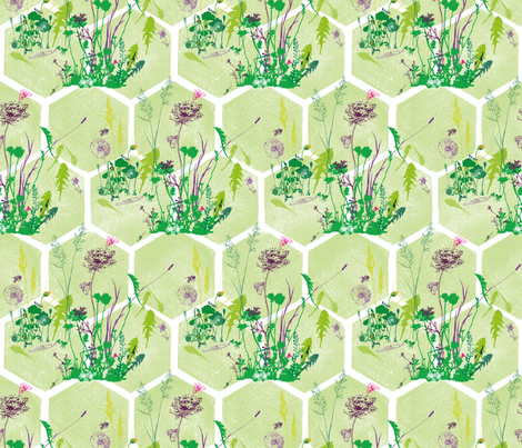 Pure delight fabric by freudenwerkstatt on Spoonflower - custom fabric