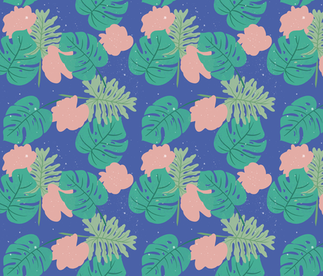 Tropical Vibes fabric by how-store on Spoonflower - custom fabric