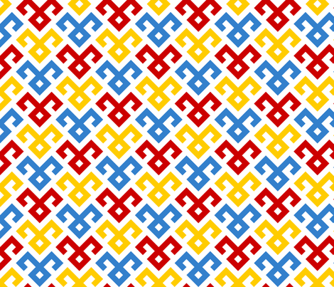 07143510 : kilim fertility 1x 3 fabric by sef on Spoonflower - custom fabric