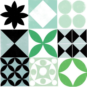 Graphic tile 4