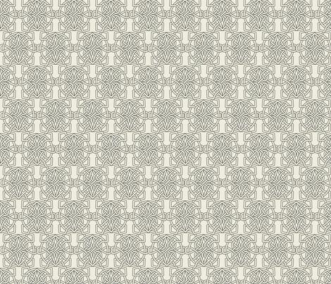 Celtic-heart pristine  fabric by ejmart on Spoonflower - custom fabric