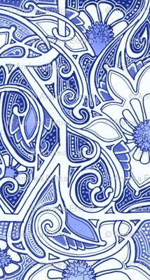 Femme Fleur Blues