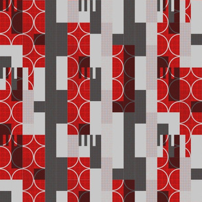 red and gray rectangles and  more